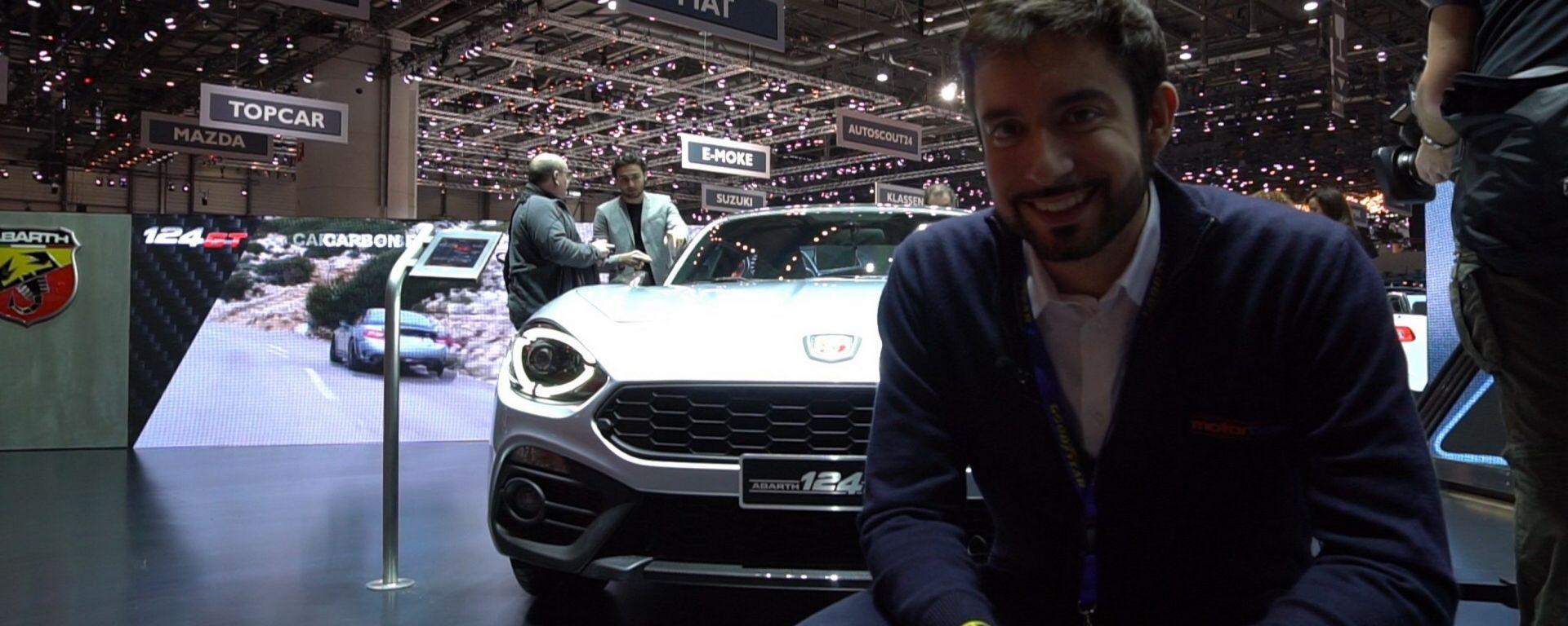 Abarth 124 GT: in video dal Salone di Ginevra 2018