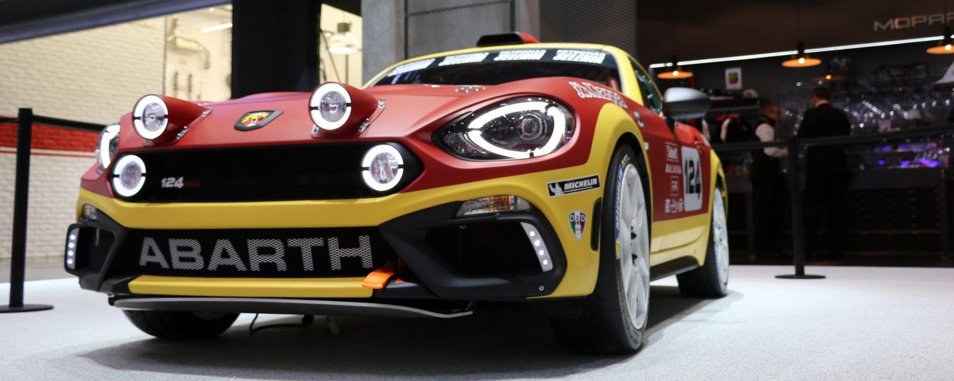 Abarth 124 Rally: lo Scorpione con 300 cv