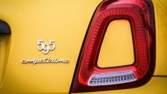 Abarth 595 Competizione: dettaglio del fanale posteriore
