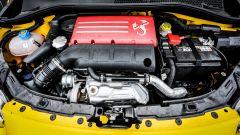 Abarth 595 Competizione: il vano motore