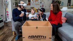 Abarth, test drive in realtà virtuale. Come funziona: video