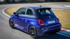 Abarth 595 Monster Energy Yamaha: il 3/4 posteriore