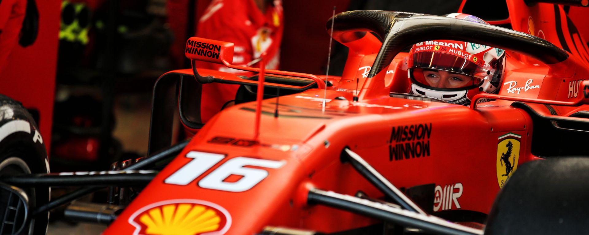 Abu Dhabi Test 2019, Charles Leclerc (Ferrari)