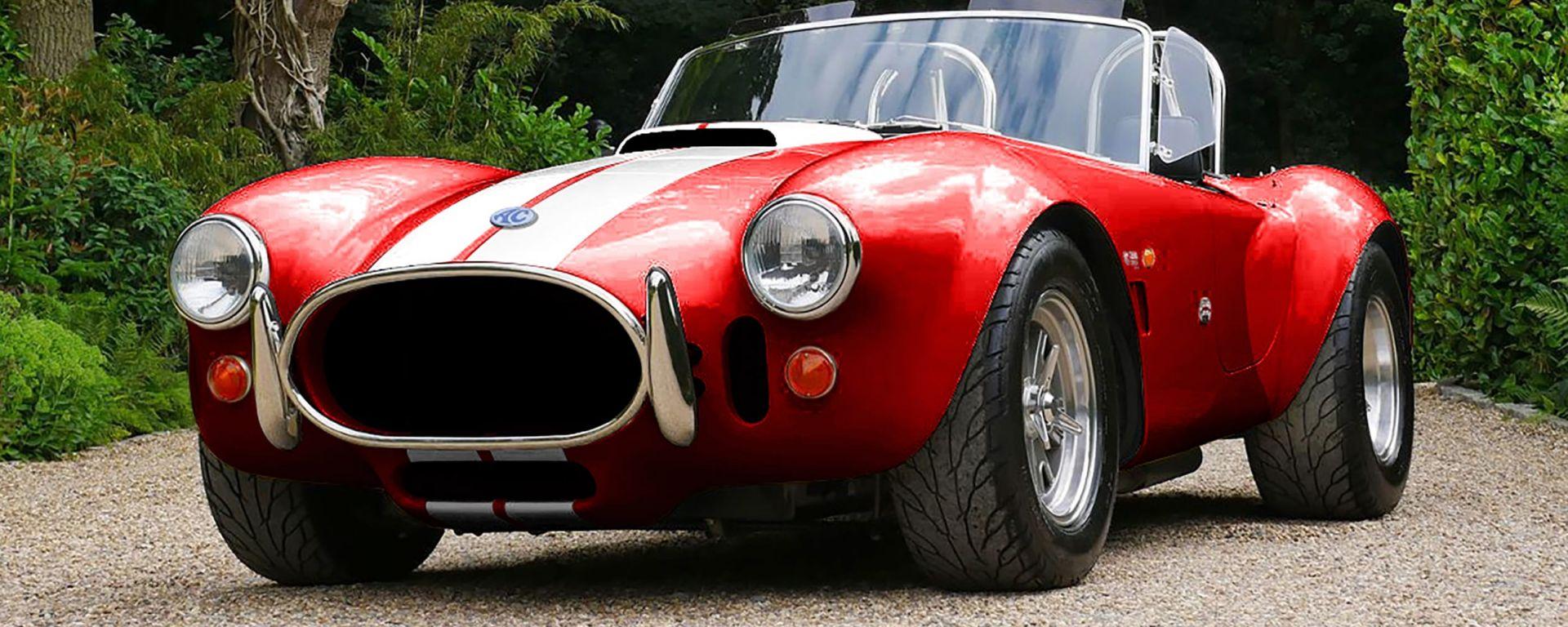 AC Cobra 4-Electric: gli inglesi di AC Cars replicano la muscle car americana ma con motore elettrico