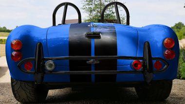 AC Cobra 4-Electric: il lato B sempre seducente della muscle car a batterie