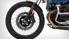 """BMW R nineT, cerchio da 21"""" e altri accessori firmati Wunderlich - Immagine: 5"""