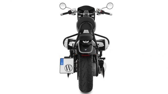 Accessori Wunderlich per BMW R 18: portatarga laterale