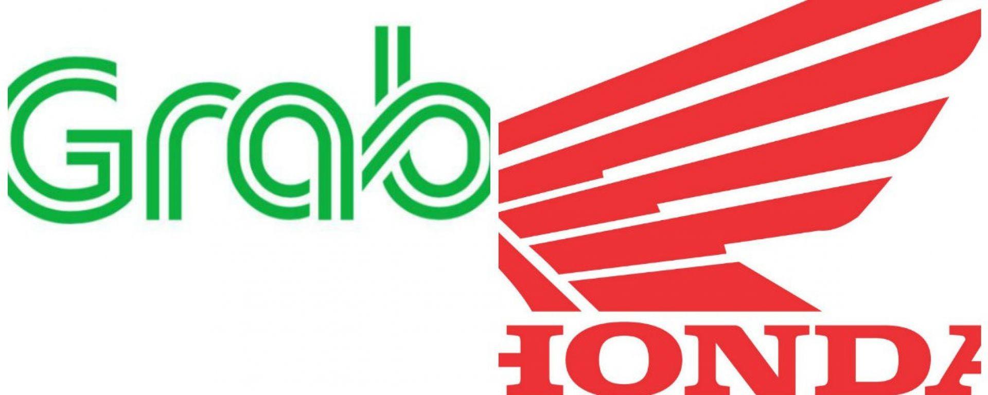 Accordo Grab-Honda per moto-taxi