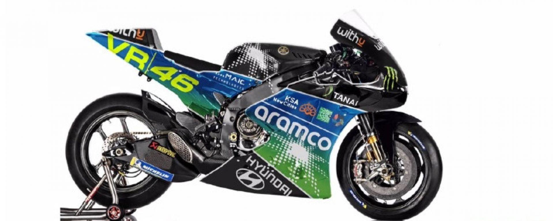Accordo tra VR46 e Aramco per un team in MotoGP dal 2022 al 2026