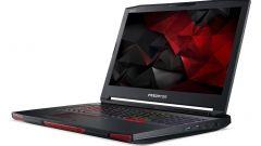 Acer Predator 17 X gaming pc: le prese d'aria anteriori