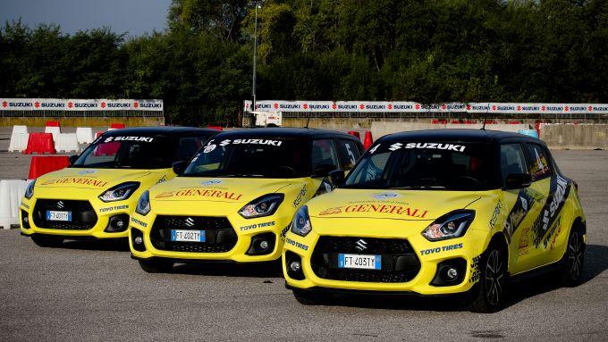 Aci Rally Italia Talent 2019, le Suzuki Swift Sport protagoniste del talent