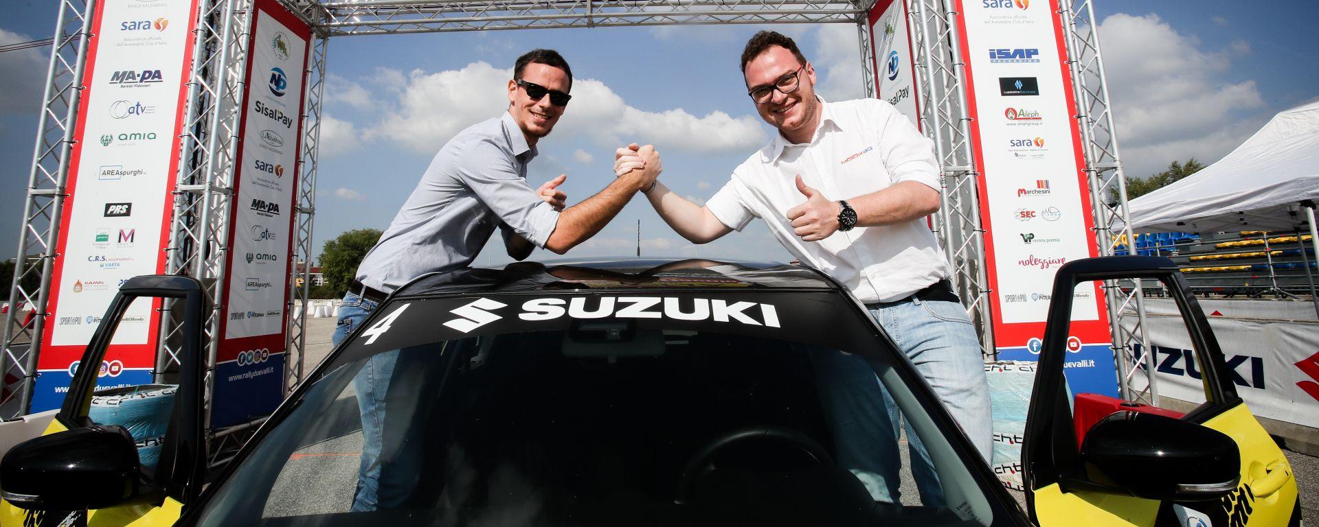 Aci Rally Italia Talent 2019: Salvo Sardina (MotorBox) e Tommaso Corona (Autoappassionati) festeggiano la vittoria