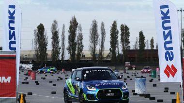 Aci Rally Italia Talent 2020, in pista con la Suzuki Swift Sport Hybrid