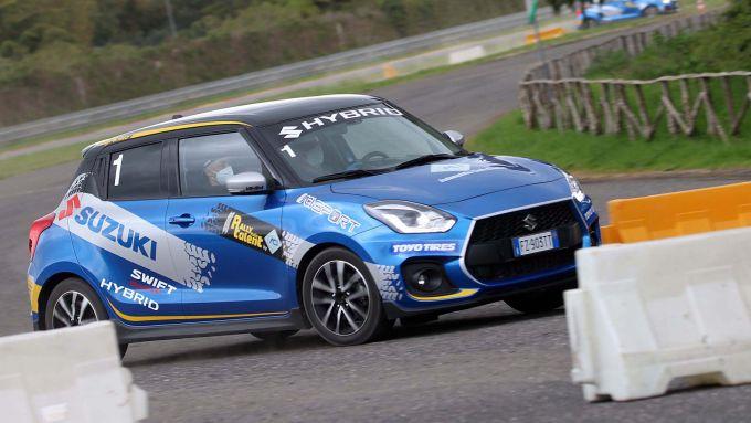 ACI Rally Italia Talent, Suzuki Swift Sport Hybrid, tappa di Pergusa 2021