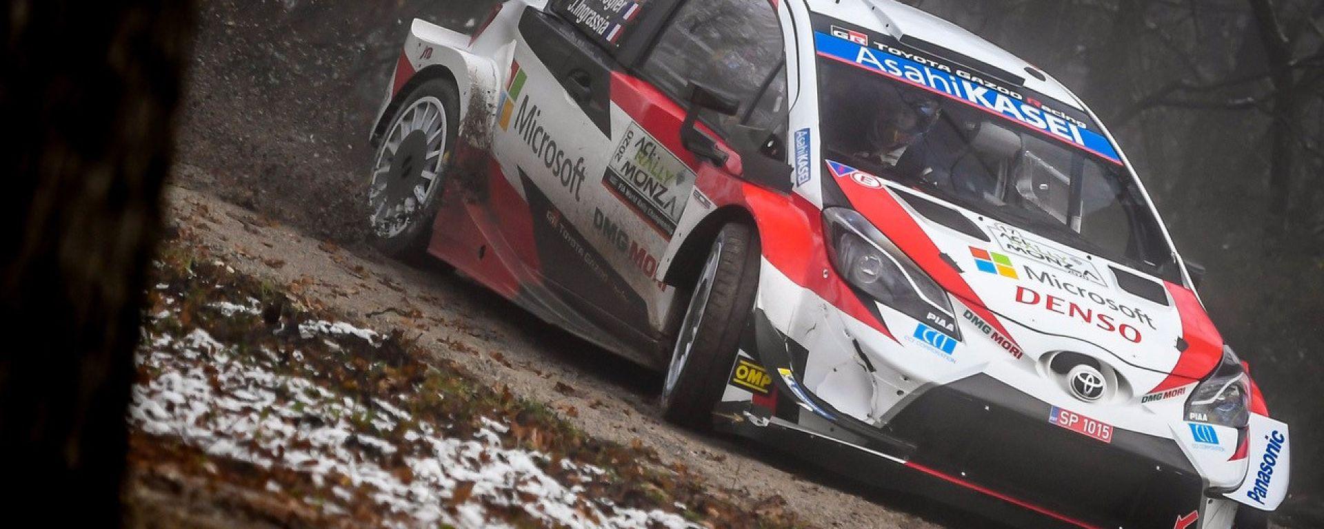 ACI Rally Monza, Sebastien Ogier e Julien Ingrassia (Toyota Yaris WRC)