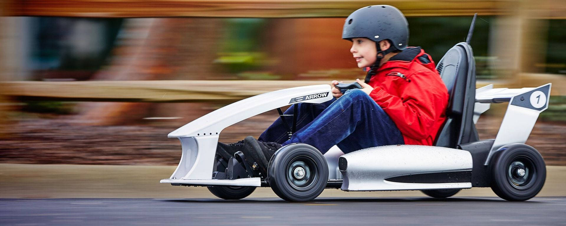 Actev Arrow Smart-Kart: il kart elettrico intelligente per bambini (foto Actev Motors)