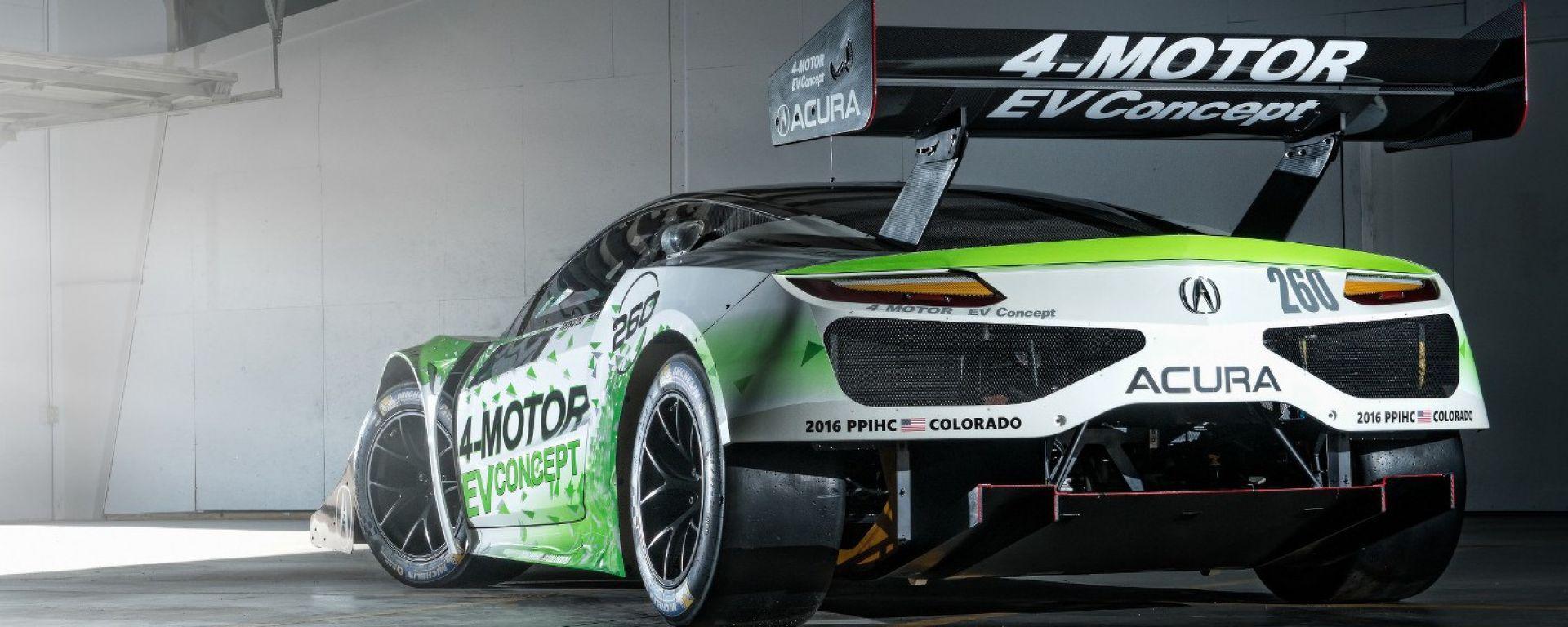 Acura EV Concept: la Pikes Peak è nel mirino