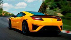 Acura/Honda NSX: vista 3/4 posteriore