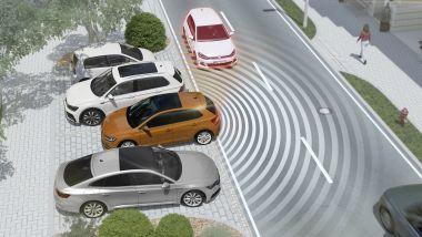 ADAS, il sistema anti collisione in retromarcia