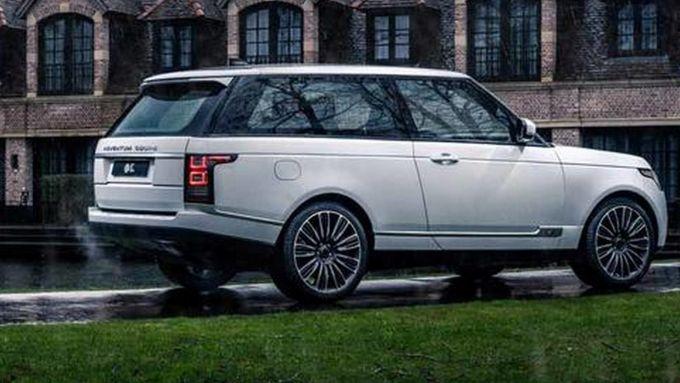 Adventum Coupé, rinasce la Range Rover SV Coupé