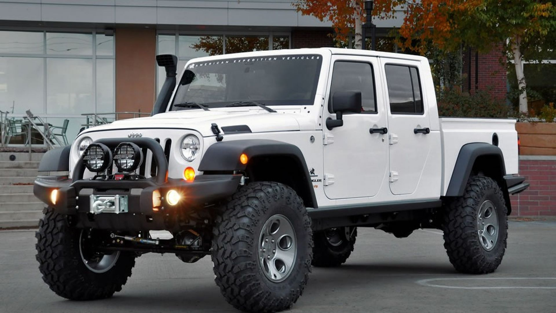 Concept Car Aev Brute Double Cab Motorbox Jeep Wrangler Gallery