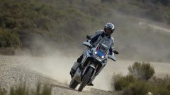 Africa Twin Adventure Sports 2020 a suo agio nello sterrato