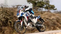 Africa Twin Adventure Sports 2020. vista di 3/4 anteriore