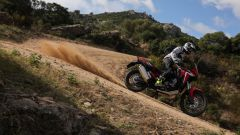 Africa Twin Standard: vista laterale
