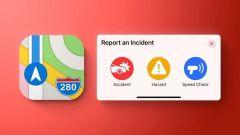 Aggiornamento per Apple Mappe: arriva la segnalazione degli incidenti
