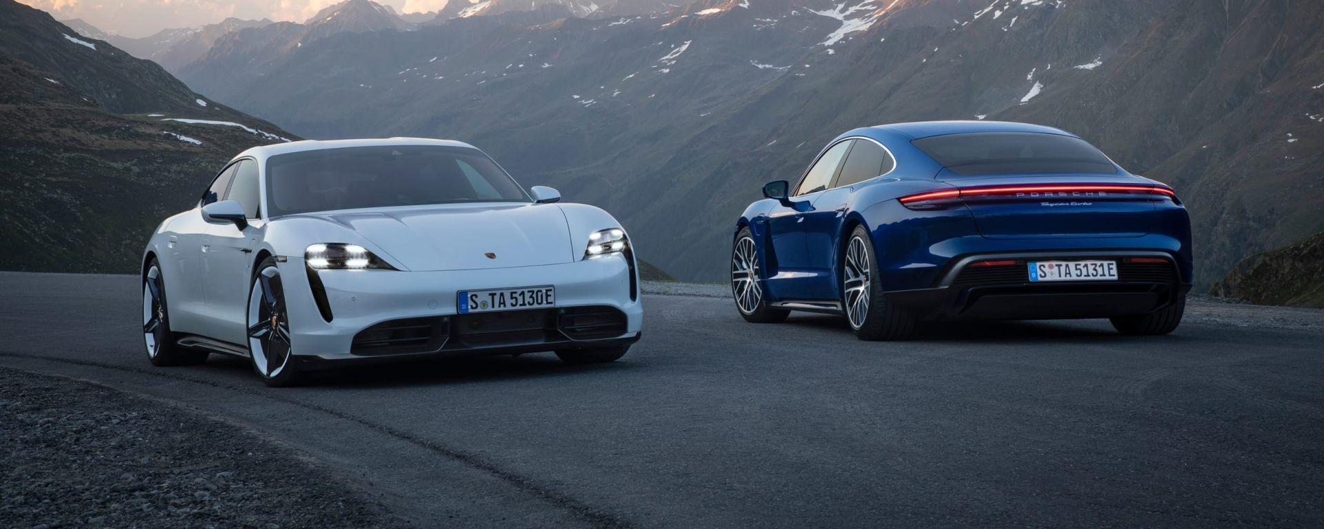 Aggiornamento software Porsche Taycan: i primi modelli migliorano il piacere di guida