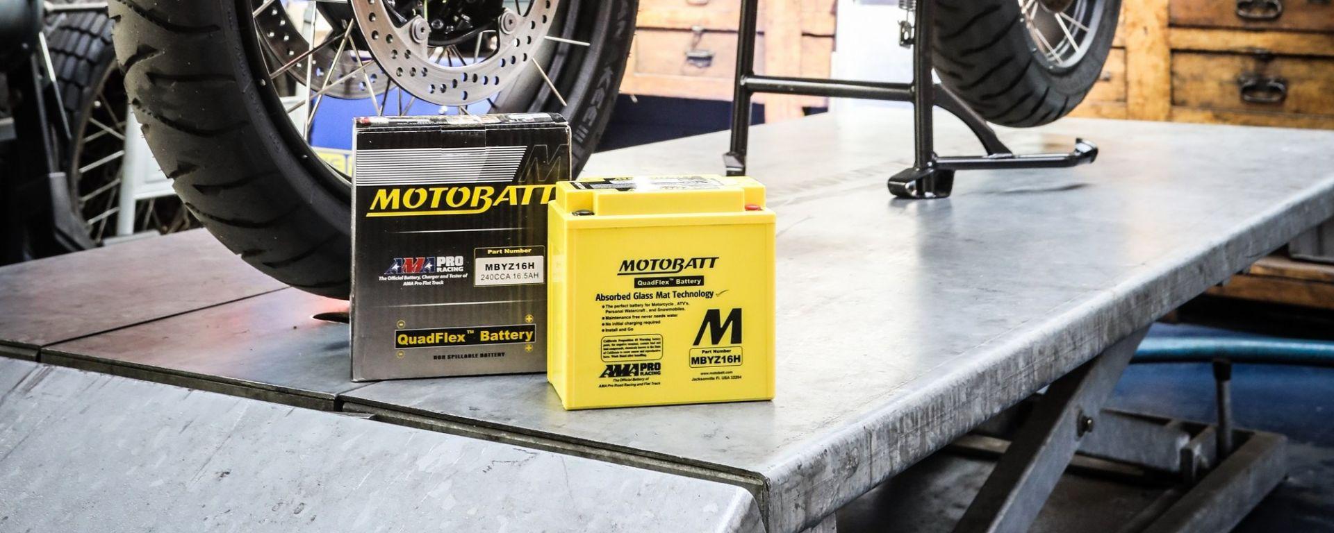 AGM Motobatt pronta per l'uso