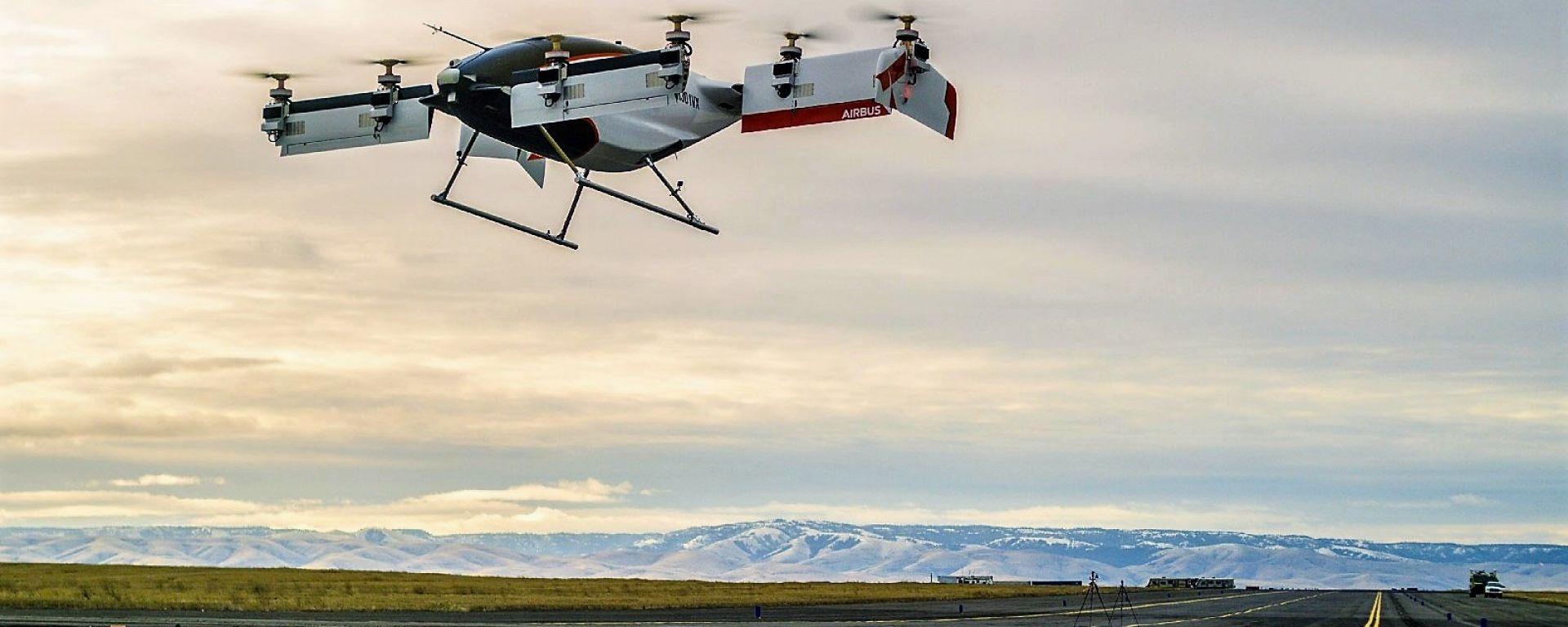 Airbus Vahana Alpha One: il primo volo del drone-taxi