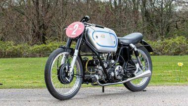 AJS Porcupine E90 GP del 1946: la moto più costosa all'asta Bonhams