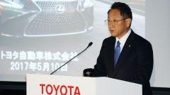 Akio Toyoda, presidente di Toyota Motor Group