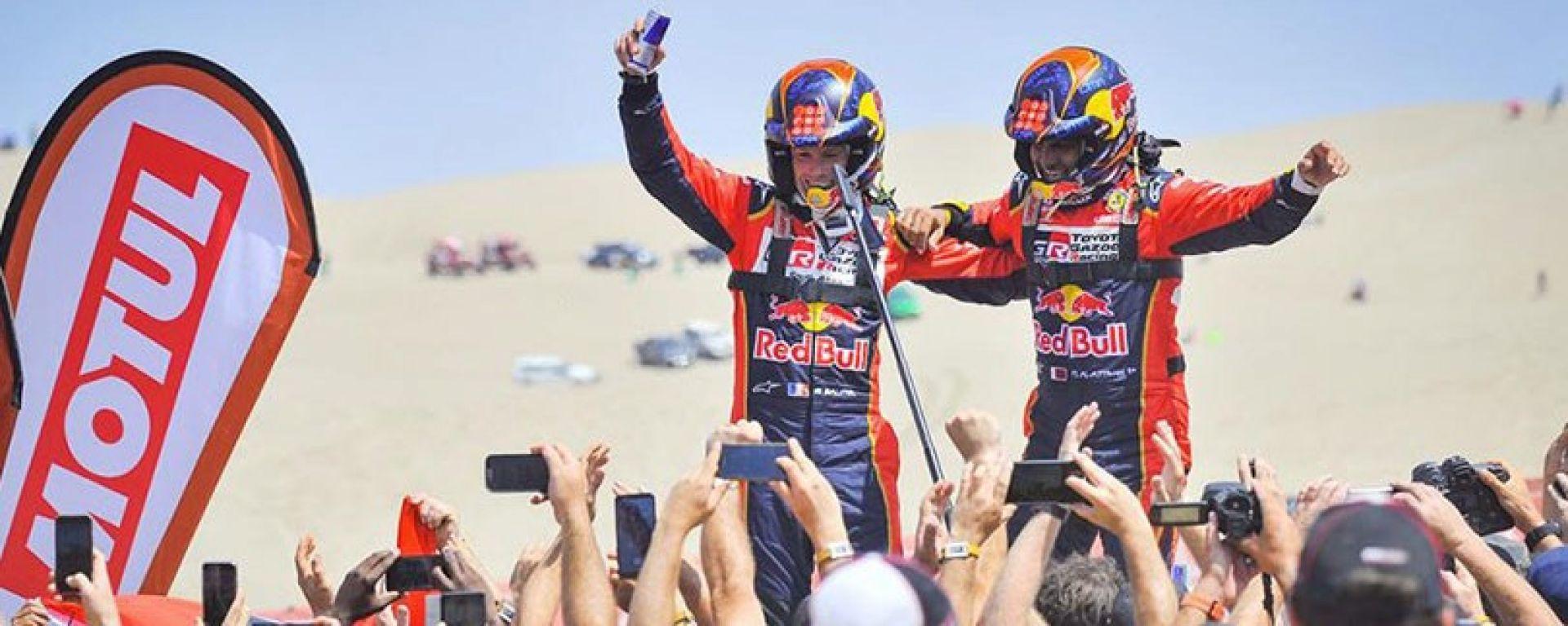 Al-Attiyah festeggia la sua terza vittoria in una Dakar