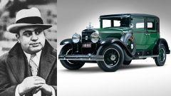 Al Capone e la sua Cadillac blindata