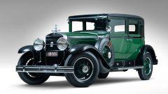 Al Capone la Cadillac blindata: 3/4 anteriore
