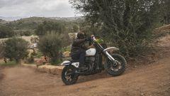 Al termine della Hill Climb di Harley-Davidson