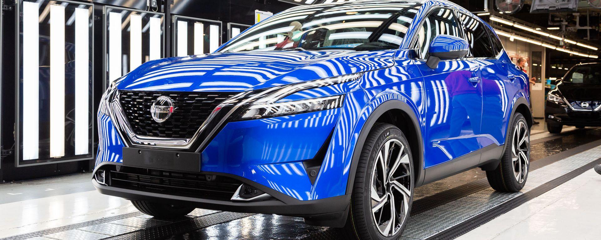 Al via la produzione di nuova Nissan Qashqai