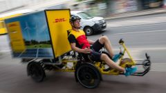 Cargo e-bike al posto dei furgoni dei corrieri a New York