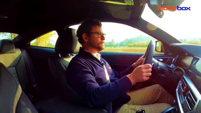 Al volante della BMW 420d Coupé M Sport