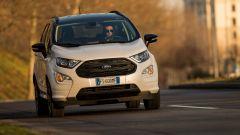 Al volante della Ford Ecosport ST-Line