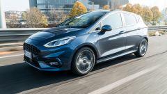 Al volante della Ford Fiesta 1.0  Ecoboost Hybrid ST-Line