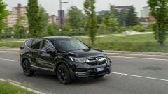 Al volante della Honda CR-V Hybrid e:HEV