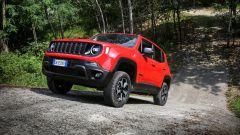 Al volante della Jeep Renegade 4xe Trailhawk