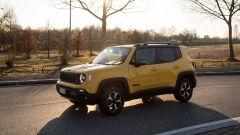 Al volante della Jeep Renegade Trailhawk