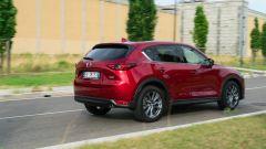 Al volante della Mazda CX-5 .2 Skyactiv-D Exclusive AWD