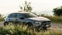 Al volante della Mercedes A180d