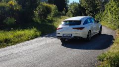Al volante della Mercedes CLA Shooting Brake