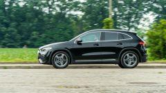 Al volante della Mercedes GLA 2020